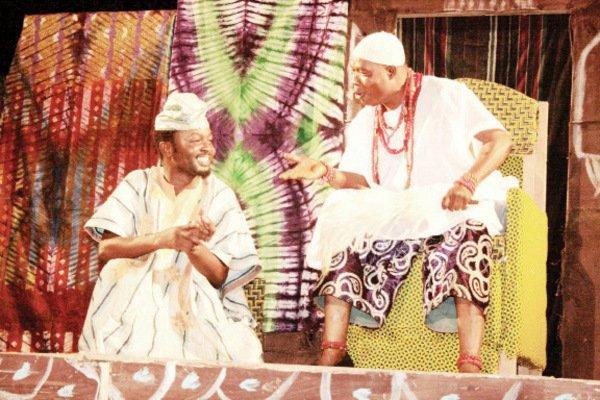 IREKE ONIBUDO-A NOVEL FOR THE GREATEST YORUBA NOVELIST D.O. FAGUNWA,PERFORMED AS A PLAY IN YORUBA LANGUAGE AND ENGLISH BY CHAMS PLC NIGERIA,NOV. 2009