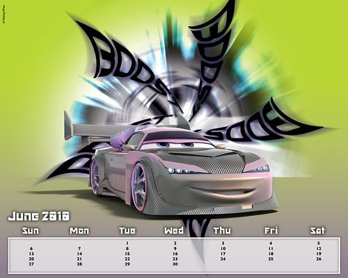 disney CARS CALENDAR 2010
