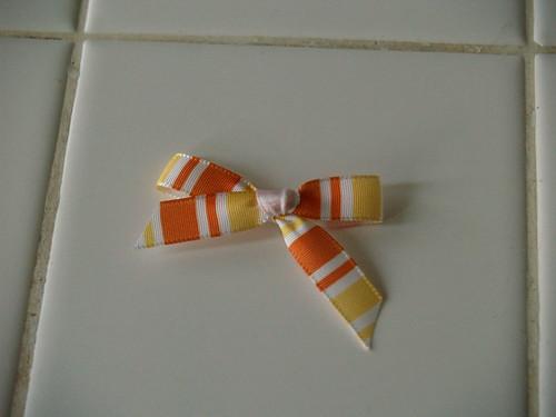 Ribbon bee, step 5