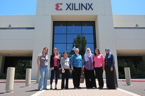 TechWomen at Xilinx