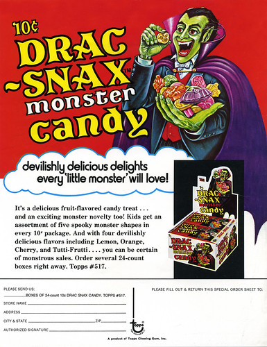 Drac-Snax Monster Candy