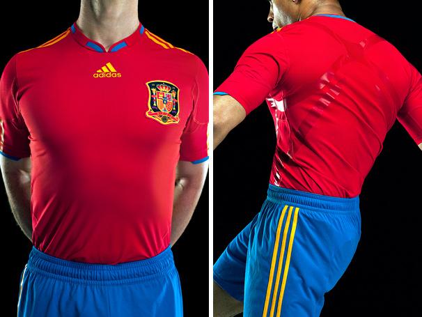 accidente arma prototipo  Spain Adidas World Cup 2010 Home Kit / Jersey / Camiseta Leak - FOOTBALL  FASHION