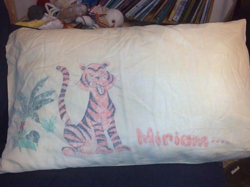 My Santa sack pillowcase