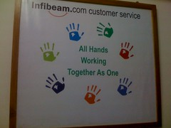 InfiBeam Customer Service