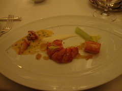 7th Course:  Nova Scotia Lobster