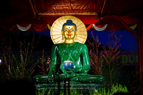 Jade Buddha for Universal Peace at Phap Vuong Monastery
