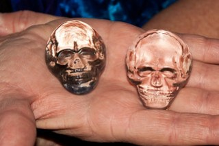 The two Crystal Skulls