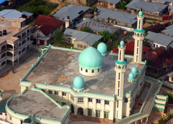 Zanzibar Mosque from the Air