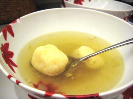 gluten-free matzo ball soup