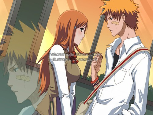♥Orihime and Ichigo♥ - Hard To Explain