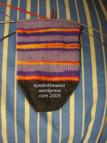 e sock wip 1 (by dyedinthewool)