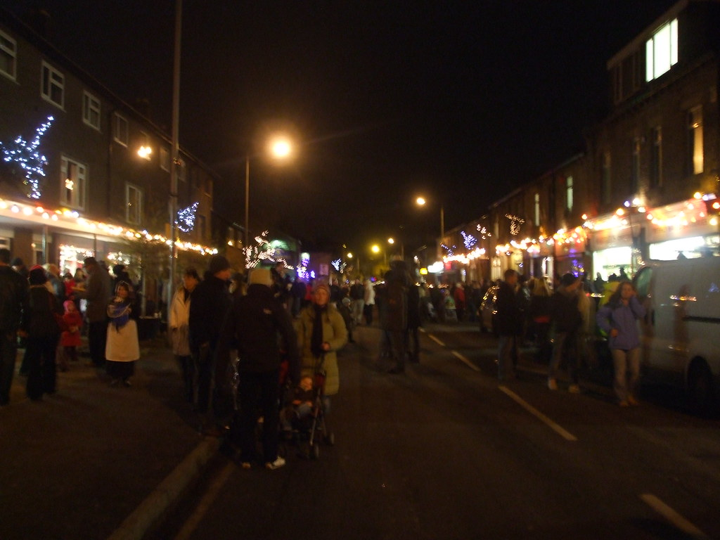 Christmas Lights in Holmfirth