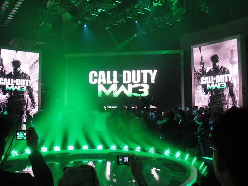 E3 2011 - Call of Duty Modern Warfare 3 (Activision)