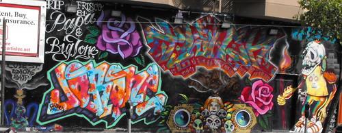 Old Cole Street Smoke Shop Mural 1