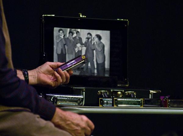 Egon's harmonicas at Open Merc