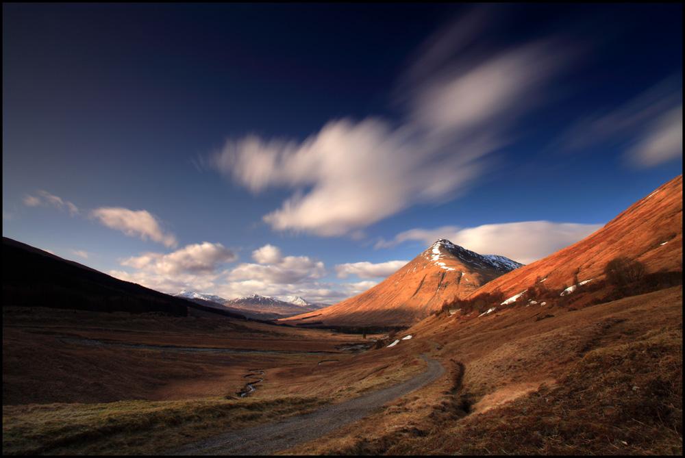 Afternoon sunlight Beinn Dorain - Scotland