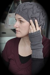 Simple Long Fingerless Gloves