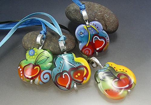 Cherry pendants | Focals by melaniemoertel.