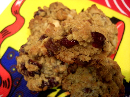 Cranberry Date Cookies