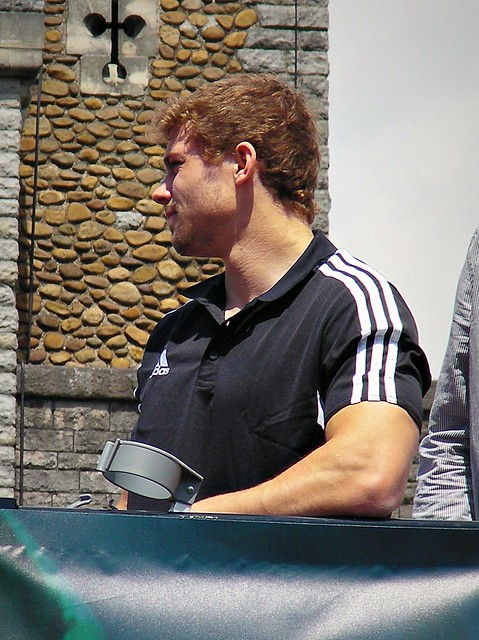 Leigh Halfpenny-European Cup parade through Cardiff City Centre