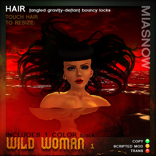 PRODUCT POSTER WILD WOMAN 1