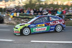 Focus WRC Abu Dhabi