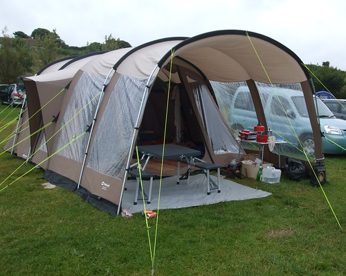 Our tent & awning