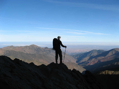 Neil in the High Atlas, Morocco