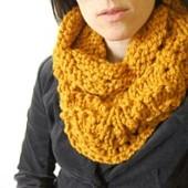 amber orange cowl wordpress pattern link