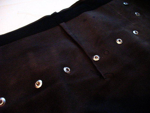 Xena skirt - darts