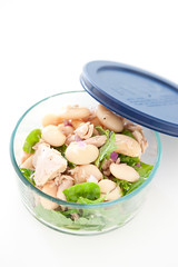 tuna butter bean salad