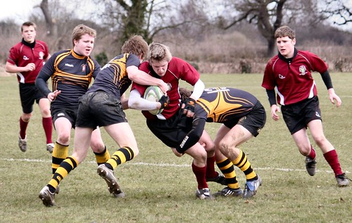 Rugby 2nds v Hallam 3rds -- Peter Iveson - 10/3/10 -