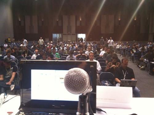 On stage #codingforpleasure