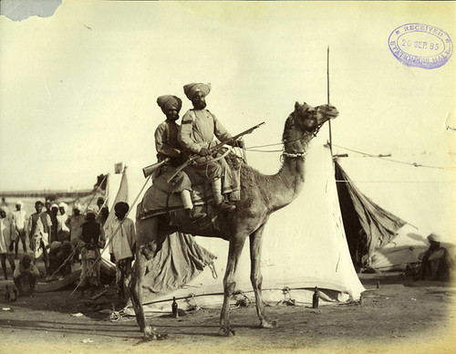 Camel Corps by The National Archives UK