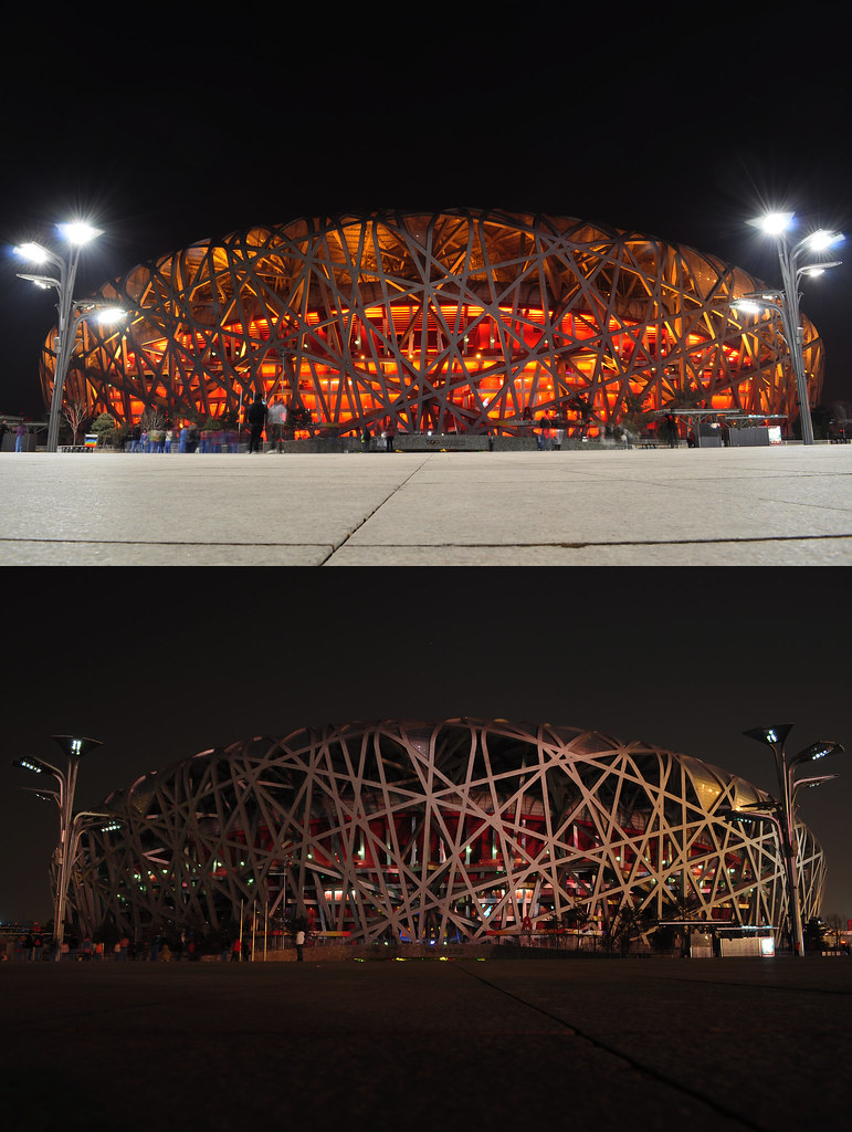 Earth Hour 2010 - Beijing Olympic Stadium