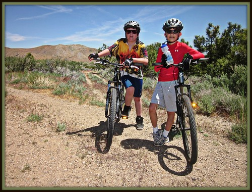 Young Mountain Bikers