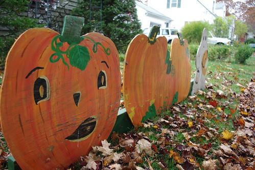 Vintage-styled pumpkin