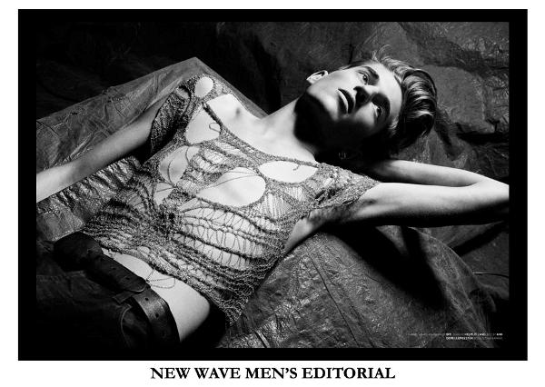 NEW WAVE MEN'S EDITORIAL