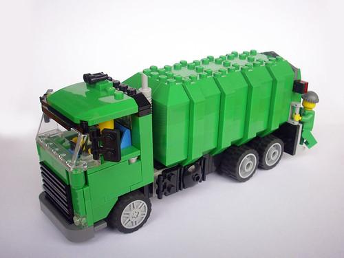 LEGO Marin Stipkovic garbage truck