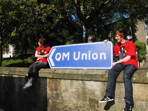 This Way To The QM Union