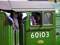 Flying Scotsman Cab - Oxenhope