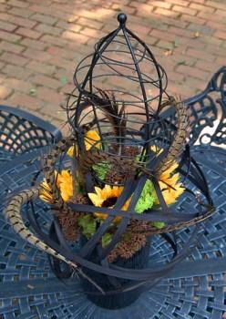 Feather Topiary — Photo by Sharon McGukin AAF, AIFD, PFCI