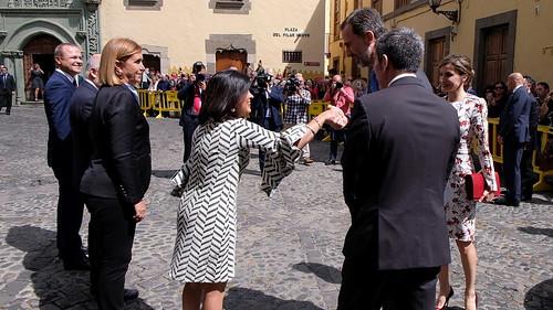 Visita de los Reyes de España a Canarias (24 y 25 de abril de 2017)