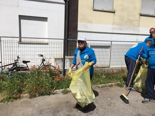 Giornata Ecologica - Case Popolari