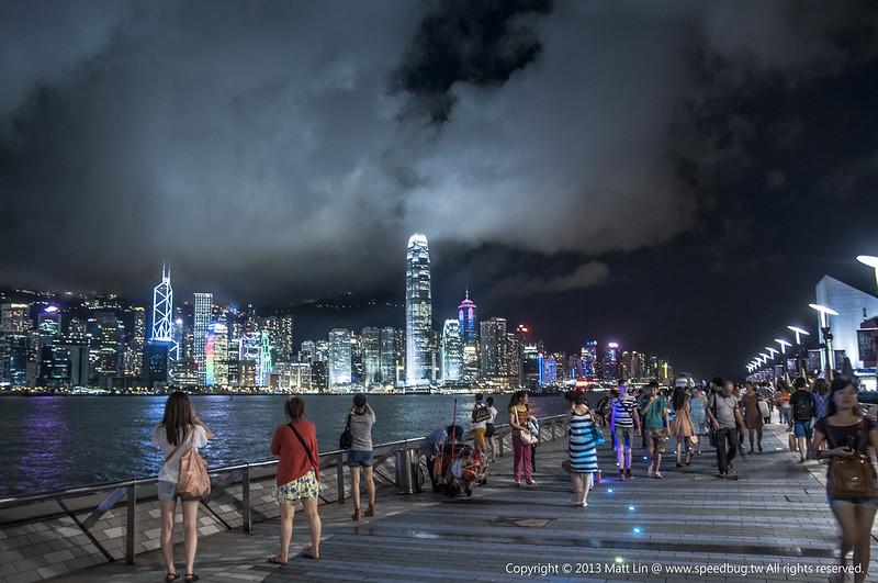 【香港】Victoria Harbour 維多利亞港夜景