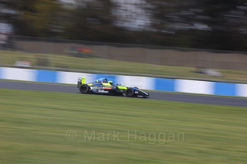 Linus Lundqvist in British F4 Race Two during the BTCC Weekend at Donington Park 2017: Saturday, 15th April