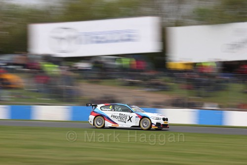 Colin Turkington in race one at the British Touring Car Championship 2017 at Donington Park