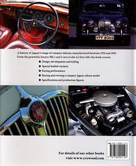 Jaguar MKS 1 en 2 cover achterkant