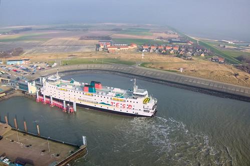 TESO ferry Schulpengat in 't Horntje