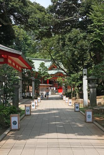 江島神社(中津宮)(Enoshima Shrine, Kanagawa, Japan)